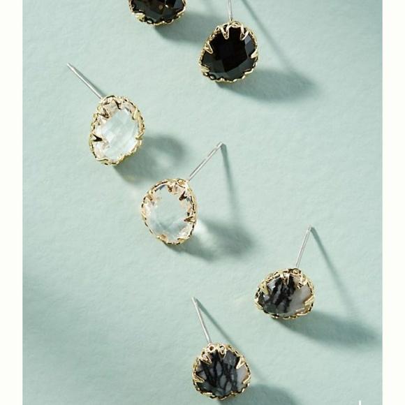 Anthropologie Vega Earrings Set GQkgoS